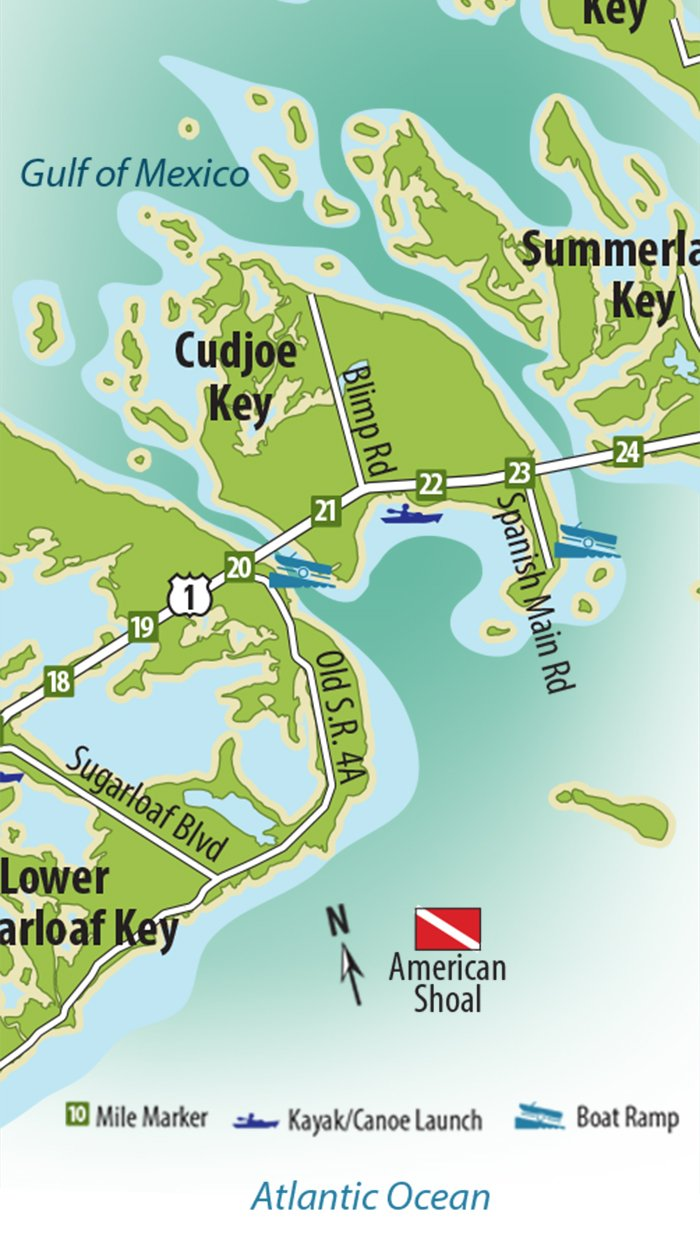 Cudjoe Key Map