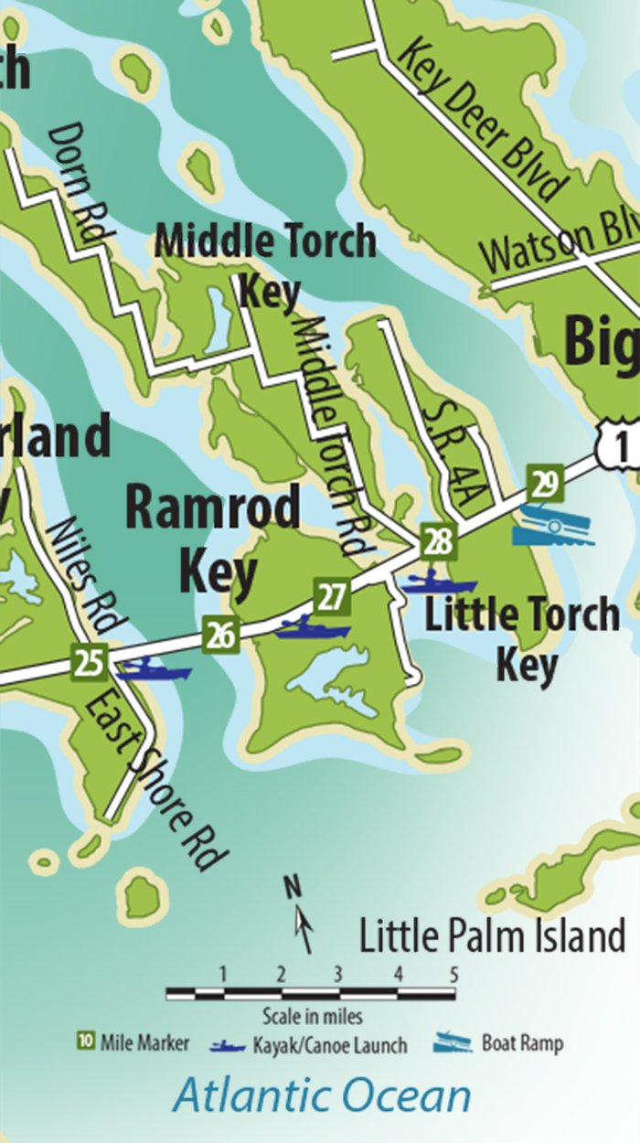 Ramrod Key Map